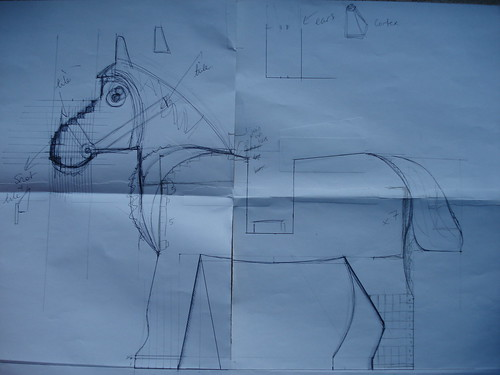 6 Scale Horse : Sketches | by gizmocom