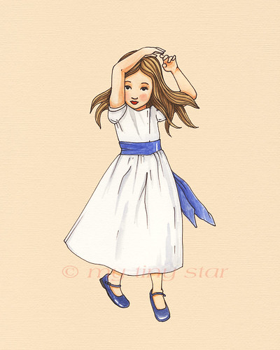 girls in white dresses | by mytinystar