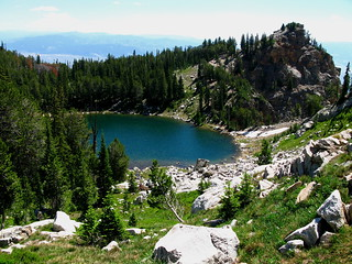 Above Surprise Lake | by Gary Tompkins