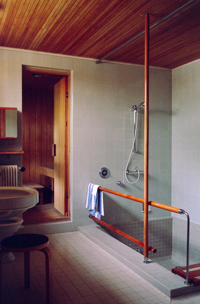 Maison Sauna maison louis carre - interior 10 - bathroom and sauna | flickr