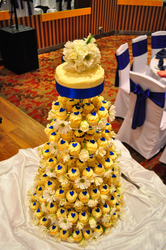 Royal Blue And Orange Wedding Cakes - Wedding Cake Flavors