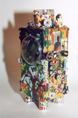 J8 Julian Cloran 3-D object created out of recycled materials | by Narolc