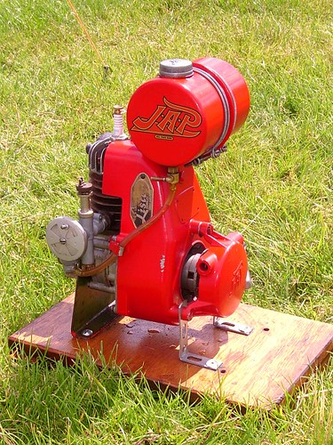 Jap Model Js34 Stationary Engine Seen At A Rally