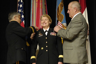 Dunwoody becomes first female four-star general | by The U.S. Army