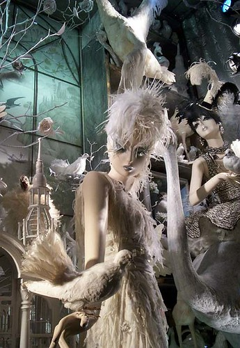 Bergdorf Goodman window: The Seasons: Spring (close-up) | by Viridia