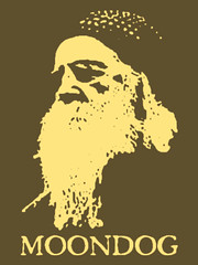 Moondog Silkscreen T-Shirt No.1
