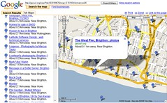 Websites Near The West Pier (GeoUrl to Google Maps) | by premasagar