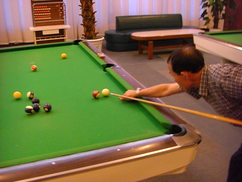 Playing Billard. Pyongyang, North Korea. | by (stephan)