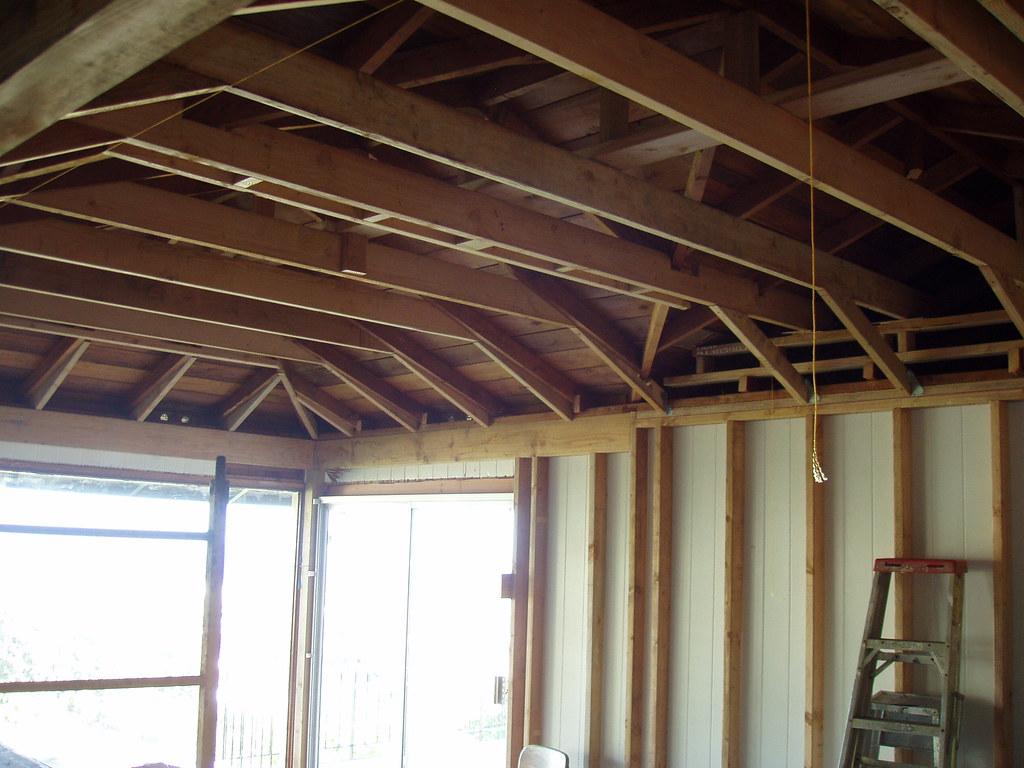 Ceiling joists in garage energywarden