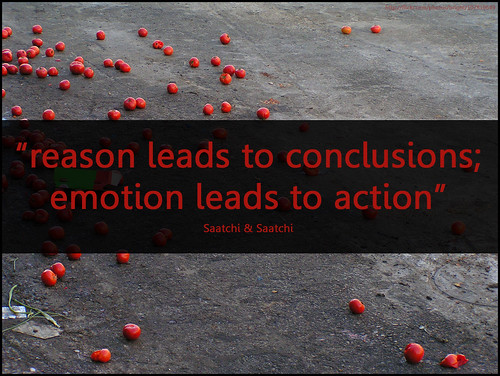 Image result for emotion vs reason quote