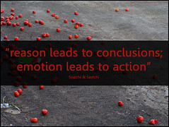 reason, conclusion - emotion, action | by Will Lion
