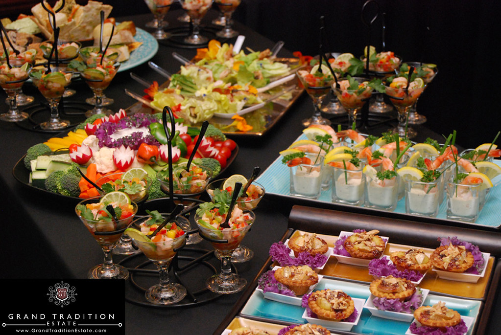 Wedding Reception Hors D Oeuvres At The Grand Tradition E Flickr