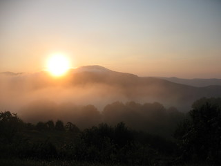 misty mountain sunrise | by october blue (away)