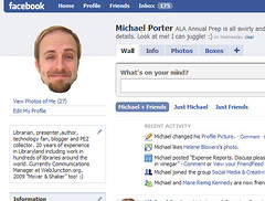 floaty facebook profile image | by libraryman
