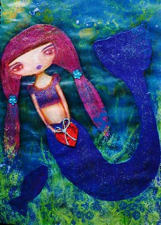 mermaid | by **tWo pInK pOSsuMs**