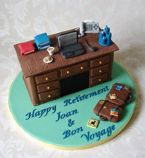 Retirement Cake for School Secretary   This cake was for a ...
