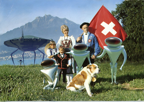 Greetings from switzerland giclee prints signed and number flickr greetings from switzerland by invading the vintage franco brambilla m4hsunfo