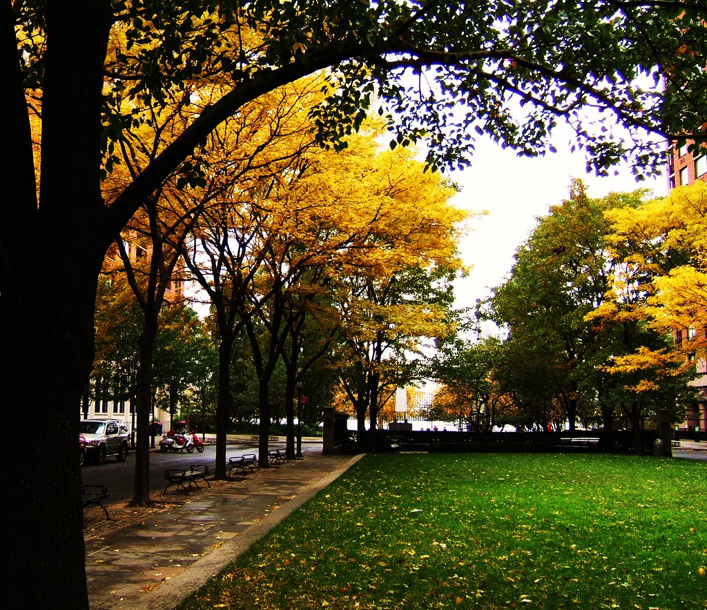 Downtown Fall, Battery Park NYC, New York | Fall 07 Battery … | Flickr