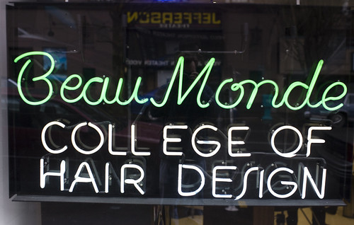 Beau Monde College of Hair Design | by Thomas Hawk