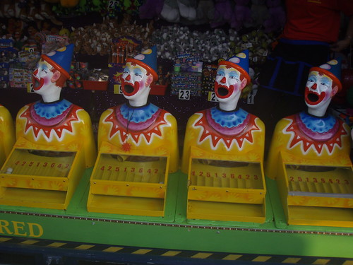 evil clowns | by PinkMoose