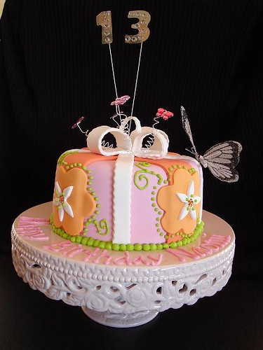Terrific Gorgeous Birthday Cake Julie Flickr Personalised Birthday Cards Veneteletsinfo