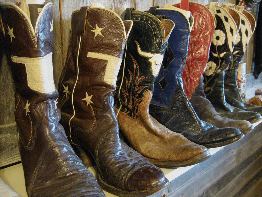 Vintage Cowboy Boot Collection | Jennifer June | Flickr