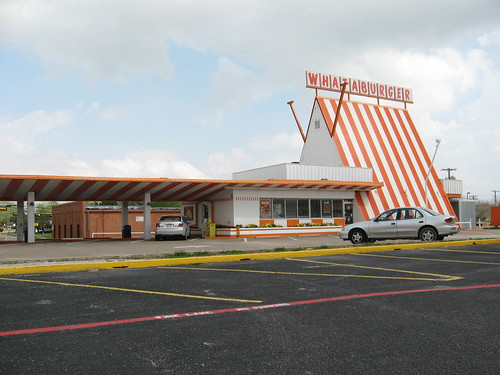 Whataburger 80 One Of The Old A Frame Locations This