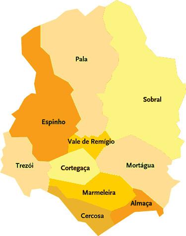 mortagua mapa portugal Concelho de Mortágua | Flickr mortagua mapa portugal
