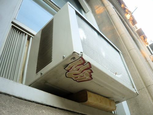 AC Window unit supported by Bible | by jasoneppink