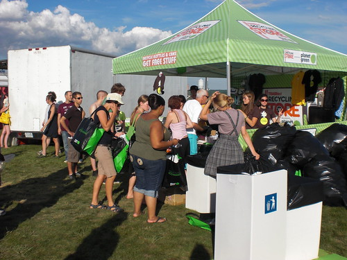 TRASHed Recycling Store at All Points West Music and Arts Festival | by Global Inheritance.