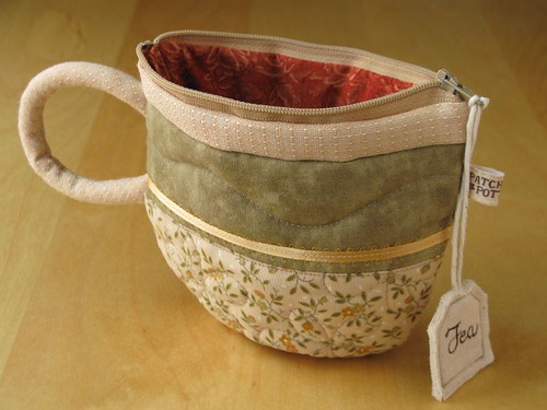 TeaCup pouch 73 | by PatchworkPottery