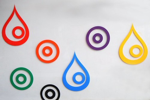 Drips & circles & color, Oh my! | by Nicole'
