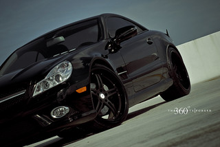 Mercedes SL 550 on 360 Forged Spec 5ive | by 360 Forged