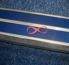 I found infinity on the stairs