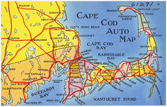 Cape Cod Auto Map | by Boston Public Library