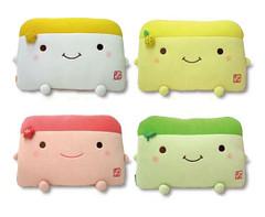 Hannari Tofu Classic Pillow Pillow Here Pillow There