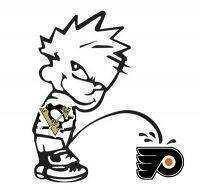 on the flyers Piss