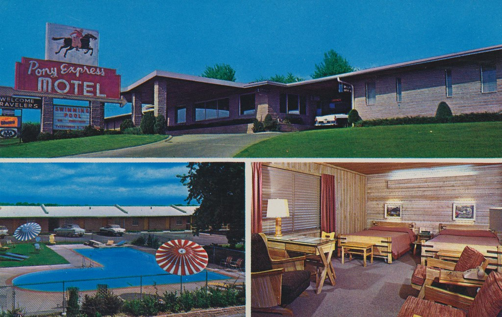 Pony Express Motel - St. Joseph, Missouri