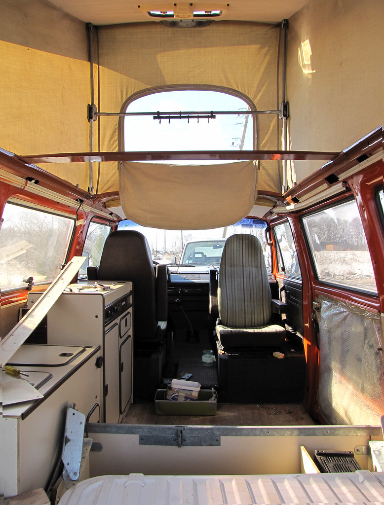 VW T3 Westfalia interior (unfinished) | Matiiss | Flickr