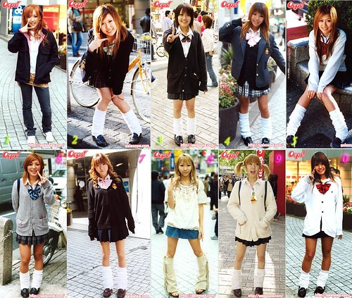 Japanese school girl fashion | by Shenanigans in Japan