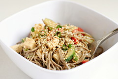 peanut sesame noodles | by crumblycookie