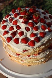 Smitten Kitchen Strawberry Chiffon Cake