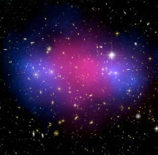 MACS J0025.4-1222: A Clash of Clusters Provides Another Clue to Dark Matter (A powerful collision of two galaxy clusters about 5.6 billion light years away.) | by Smithsonian Institution
