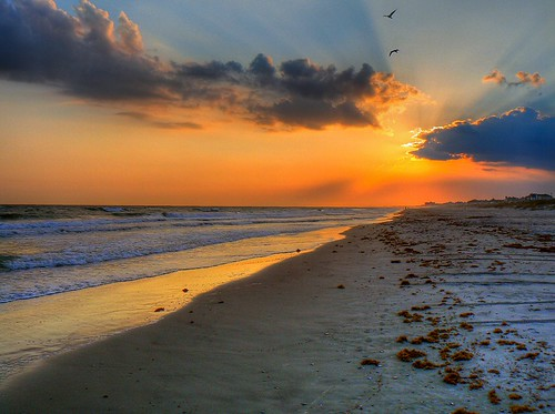 Atlantic Beach HDR Sunset - Explored | by L1mey
