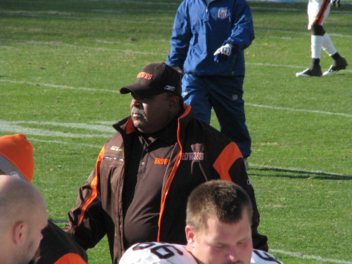 Cleveland Browns coach Romeo Crennel | by http://www.philliprigginsphotography.com/