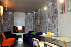 Poem hotel : the design of the lobby in Apostrophe hotel | by Nite and Room Reporter