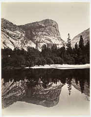 Mirror Lake, Yosemite. | by New York Public Library