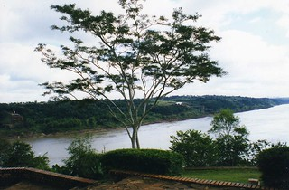 Puerto Iguazu looking to Paraguay | by wallygrom