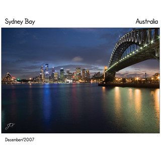 Sydney Bay | by My name is John