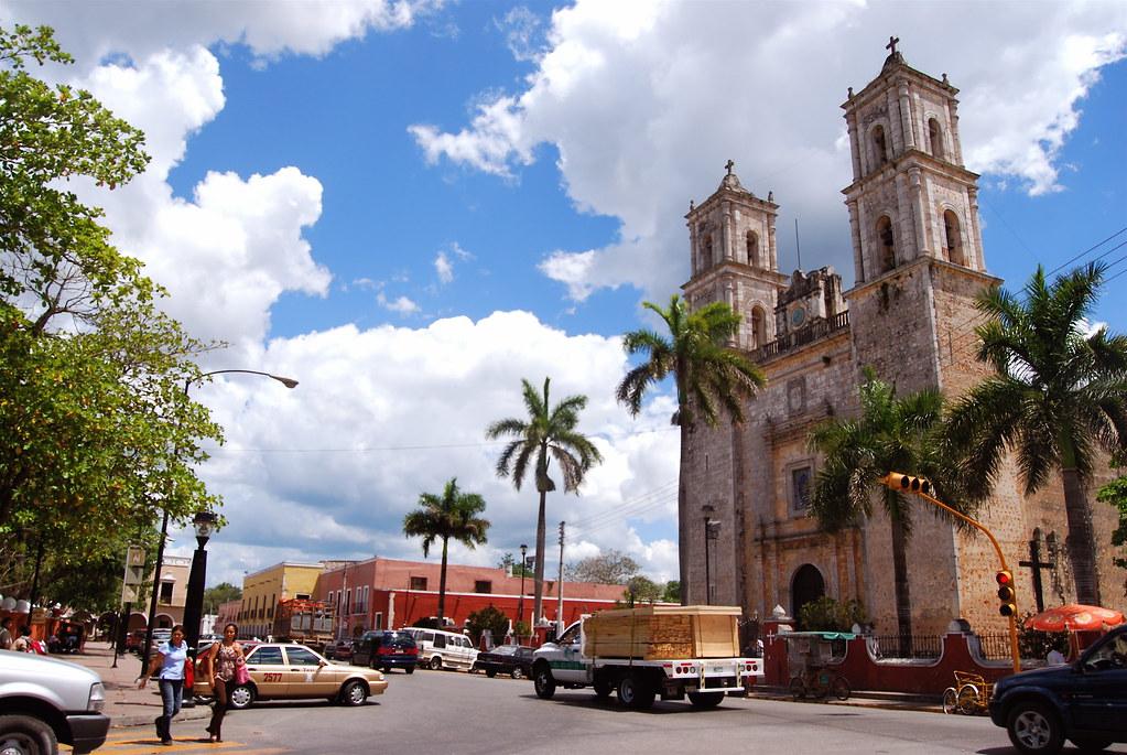 Church of Valladolid in Yucatan